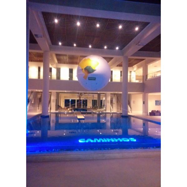 Achar Empresa de Balões de Blimp na Vila Santana - Blimp Inflável para Eventos