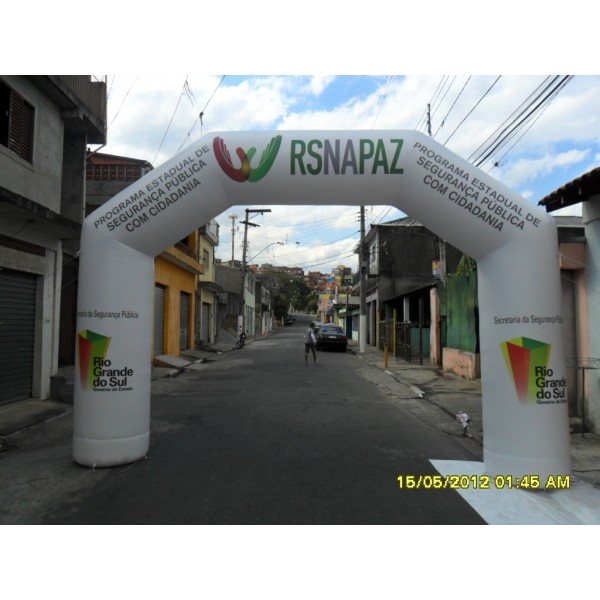 Achar Portal Inflável em Gravataí - Comprar Portal Inflável