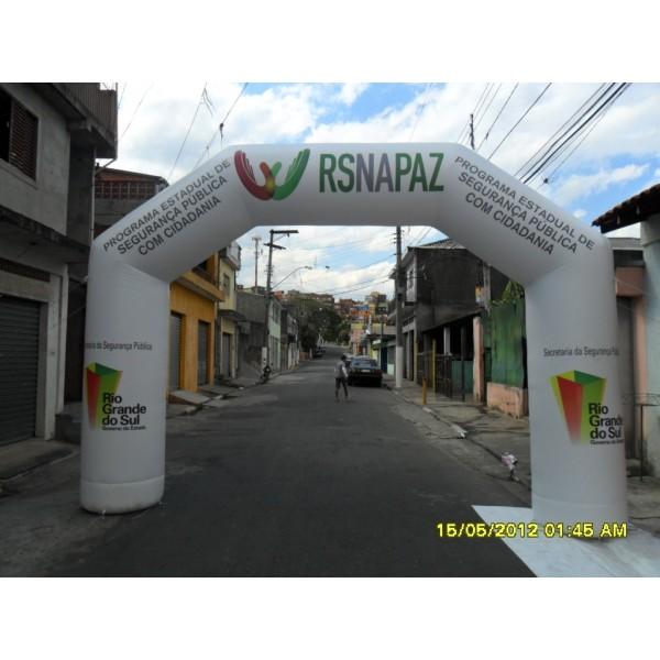 Achar Portal Inflável na Pinheiro - Portal Inflável Preço