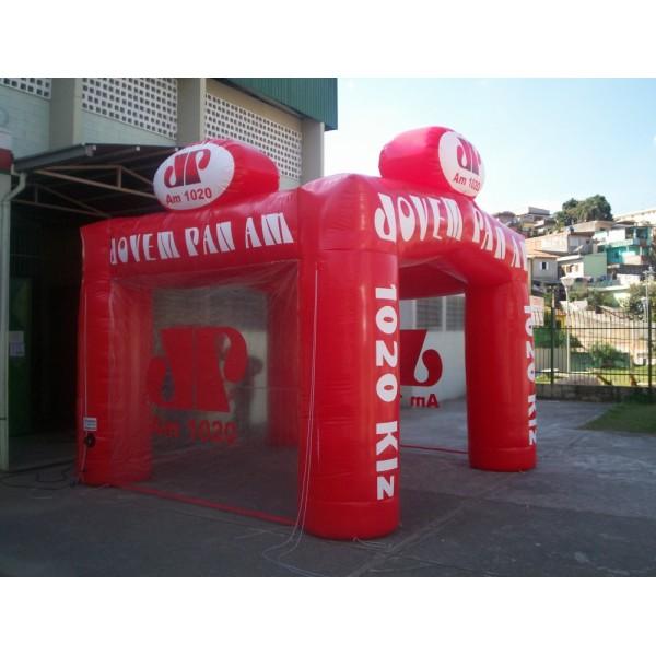 Achar Tenda Inflável na Parnaíba - Locação de Tenda Inflável