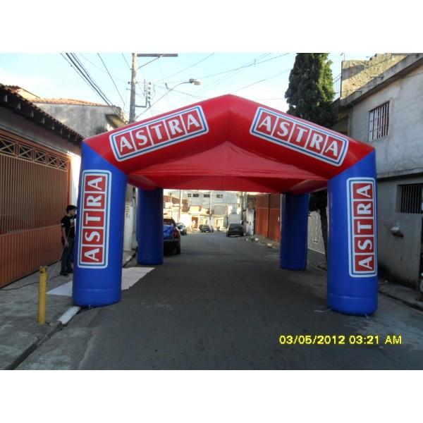 Achar Tenda na Esperantina - Tenda Inflável Personalizada