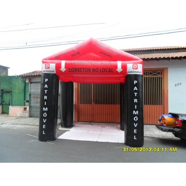 Achar Tendas Infláveis em Jacupiranga - Tenda Inflável Personalizada