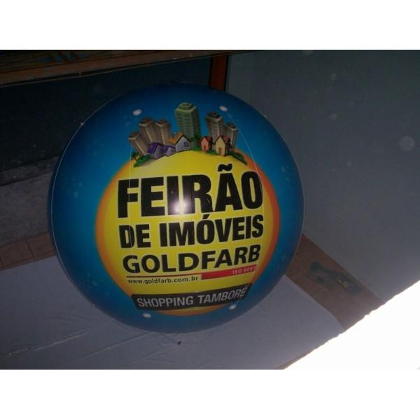 Balão Blimp em Arco-Íris - Balão Blimp Inflável