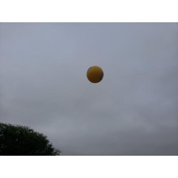 Balão Blimp na Chácara Recreio Santa Camila - Balão Blimpem SP