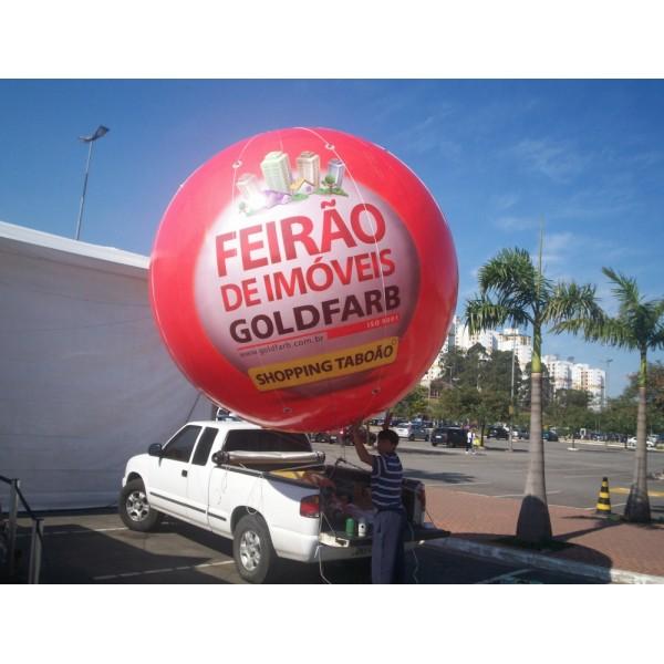 Balão Blimp Onde Encontrar na Pinheirinho - Preço de Blimp Inflável