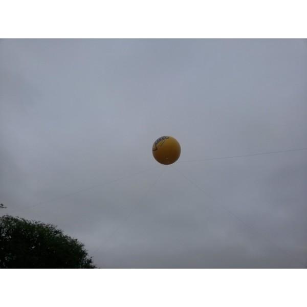 Balão de Blimp em Santa Lúcia - Preço de Blimp Inflável