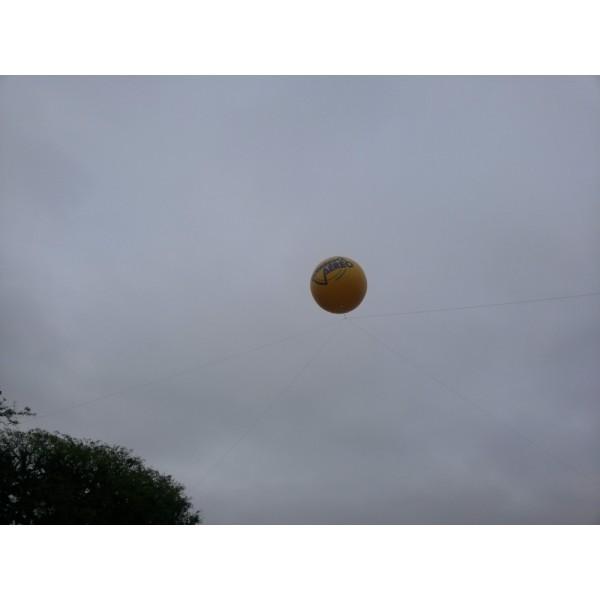 Balões Blimp na Eldorado - Balão Blimpem SP