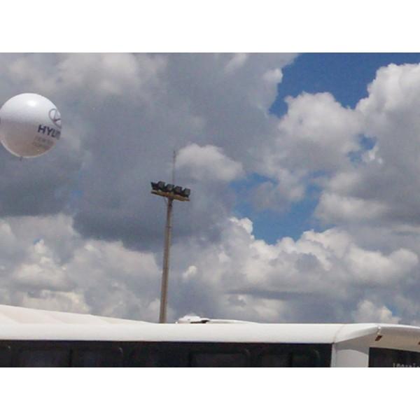 Balões Blimp Valor em Fortaleza - Balão Blimpem Natal