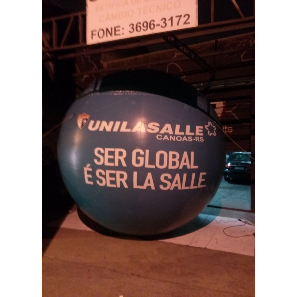 Balões de Blimp na Lindéia - Preço de Blimp Inflável