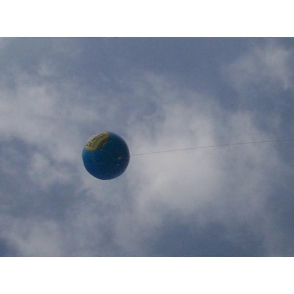 Balões de Blimp Preço em Onda Verde - Preço de Blimp Inflável
