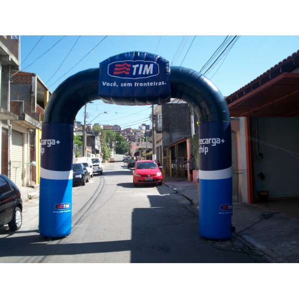 Comprar Portais Infláveis na Vila Bourbon - Portal Inflável em SP