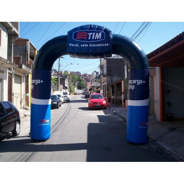 Comprar Portal Inflável na Pracatu - Portal Inflável em Recife
