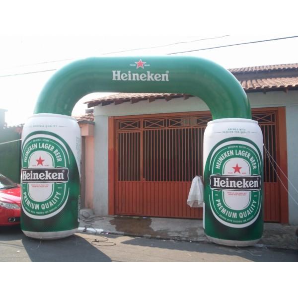 Comprar Portal na Barra de São Francisco - Portal Inflável em Recife