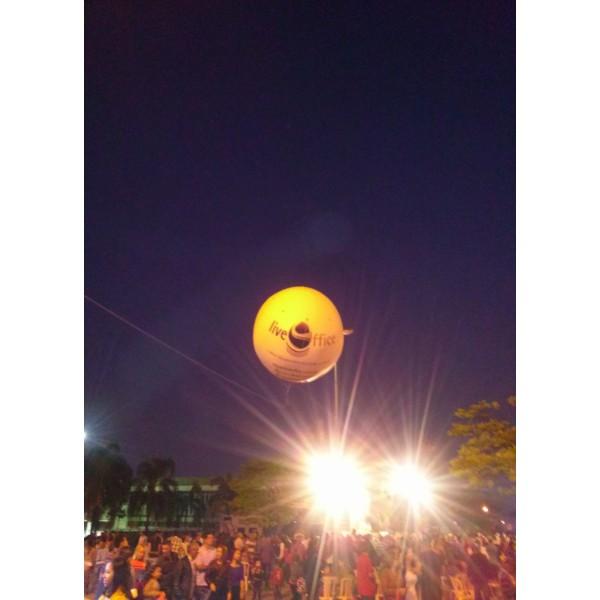 Conseguir Balões Blimp Jardim Bandeiras - Blimps Infláveis