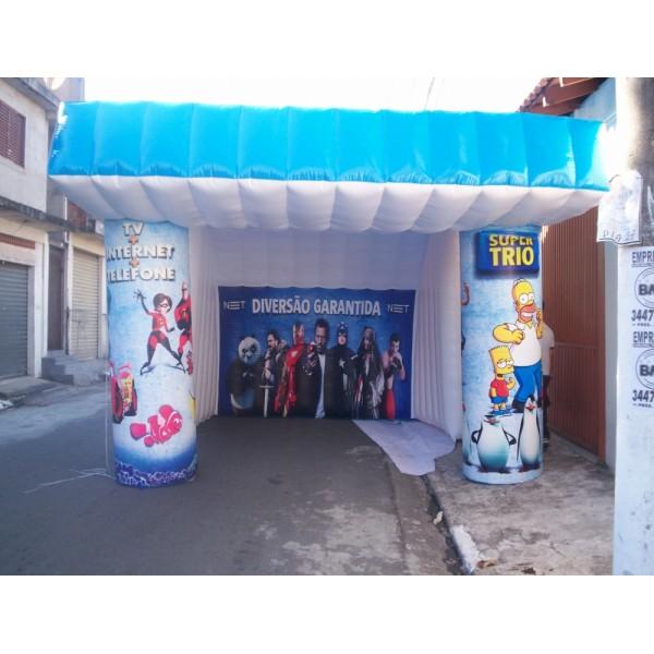 Conseguir Tenda em Palmas - Tenda Inflável Preço