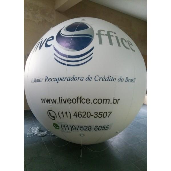 Empresa de Balão Blimp em Macaé - Blimp Inflável para Eventos