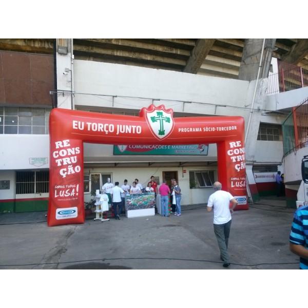 Empresa de Portais Infláveis na Chácara Portão do Castanho - Portal Inflável para Eventos SP