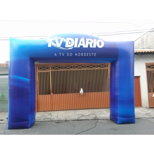 Empresa de Portal no Residencial Cinco - Portal Inflável no DF