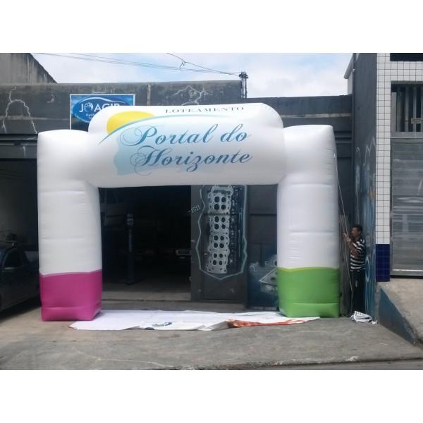 Empresas de Portais Infláveis em Santa Clara D'Oeste - Preço Portal Inflável