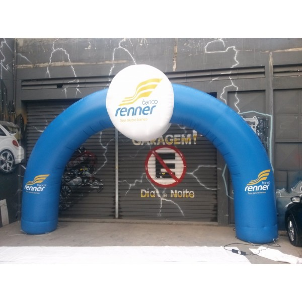 Empresas de Portais Jardim do Lírio - Preço Portal Inflável