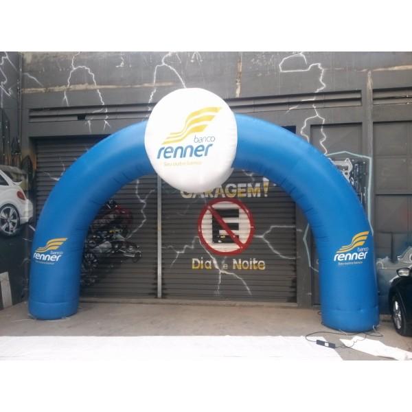 Empresas de Portais na Chácara São Felipe - Portal Inflável em MG