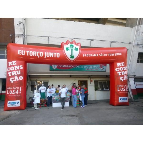 Empresas de Portal na Barra do Garças - Portal Inflável Preço
