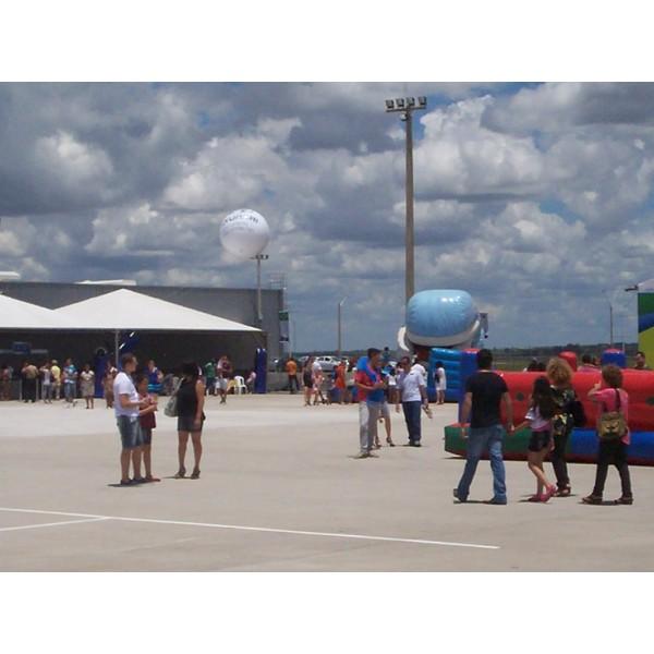 Encontrar Empresas de Balão Blimp na Guarani - Blimp Inflável para Eventos