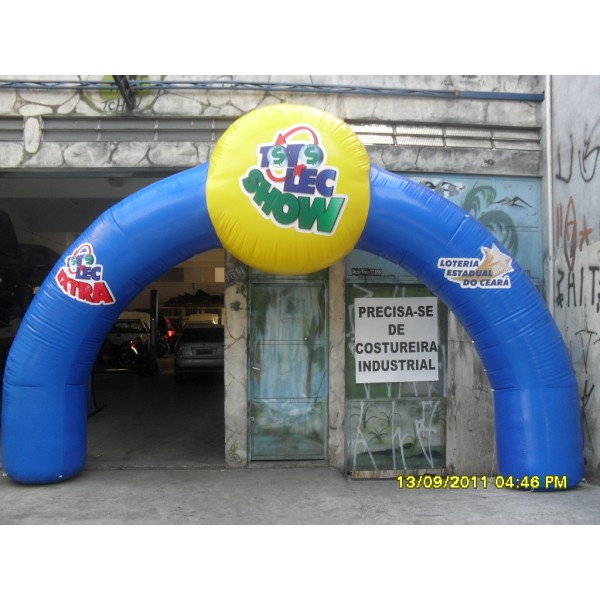 Encontrar Portal no Campanário - Portal Inflável no DF