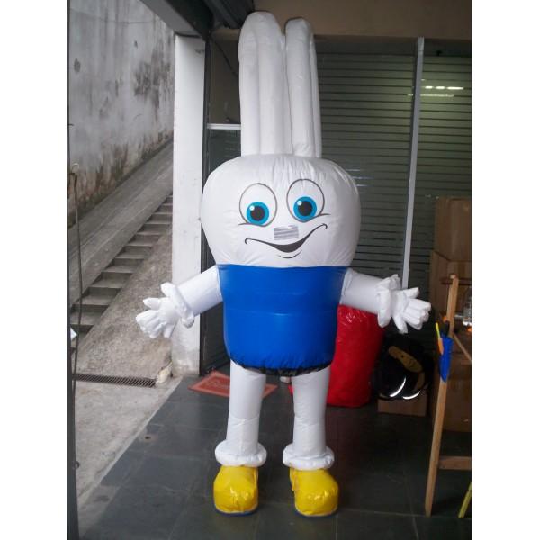 Fantasias Infláveis Onde Comprar em Potirendaba - Fantasia de Mascote Inflável