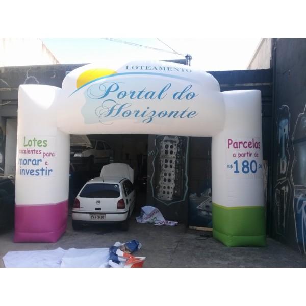 Onde Achar Portal em Santa Maria da Serra - Comprar Portal Inflável
