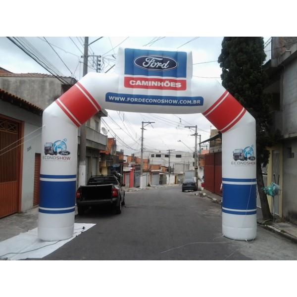 Onde Achar Portal Inflável em Dumont - Portal Inflável Preço