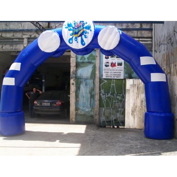 Onde Comprar Portal Inflável na Parque Residencial Nove de Julho - Portal Inflável em Salvador