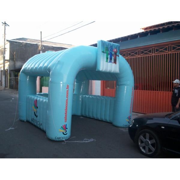 Onde Conseguir Tenda em Pardinho - Comprar Tenda Inflável