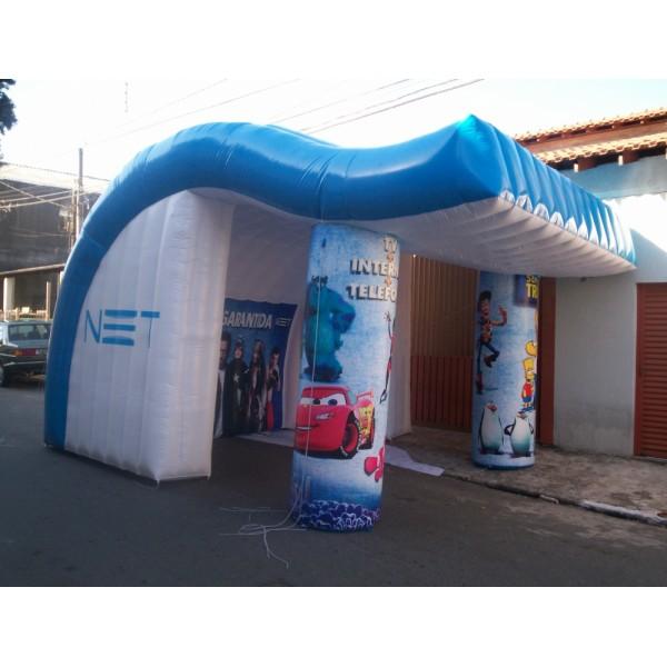 Onde Conseguir Tendas em Ribeirão Branco - Tenda Inflável em MG