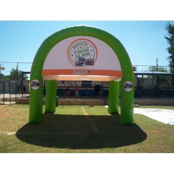 Onde Encontrar Tendas Infláveis em Santo Expedito - Tenda Inflável Personalizada