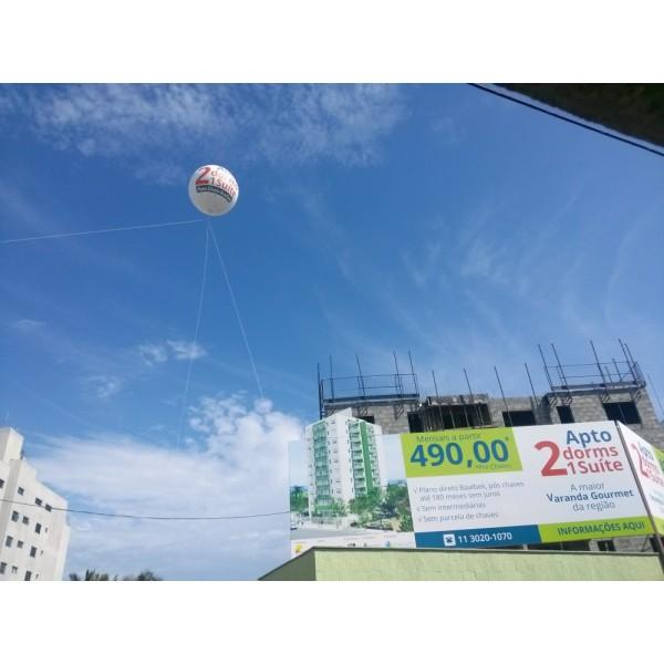 Onde Tem Balões Blimp no Residencial Cinco - Balão Blimpem Curitiba