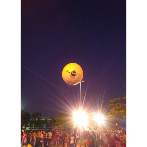 Onde Tem Balões de Blimp em Palhoça - Blimp Inflável para Eventos