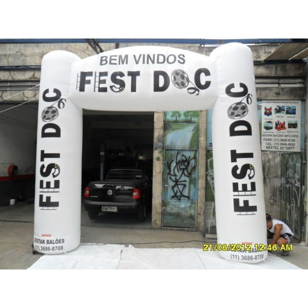 Onde Tem Portais em Águas Lindas de Goiás - Portal Inflável em São Paulo