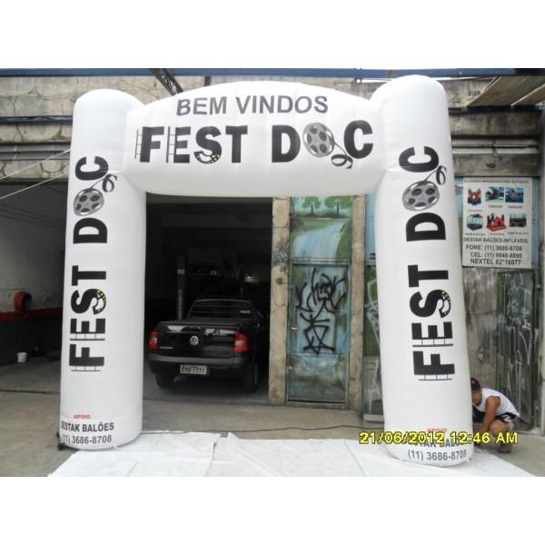 Onde Tem Portais em Santa Catarina - Portal Inflável no DF