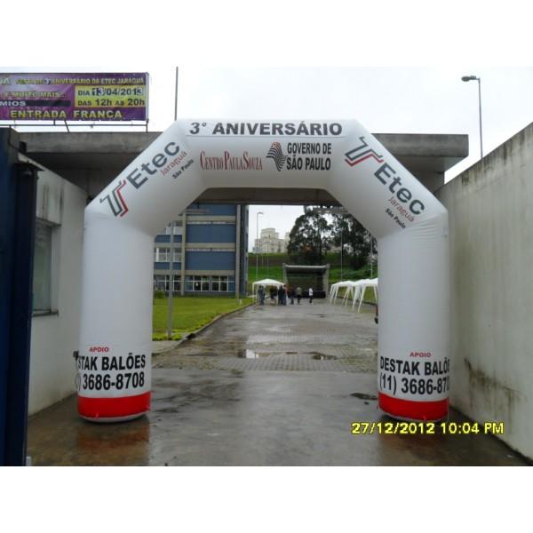Onde Tem Portais Infláveis em Roseira - Portal Inflável no DF
