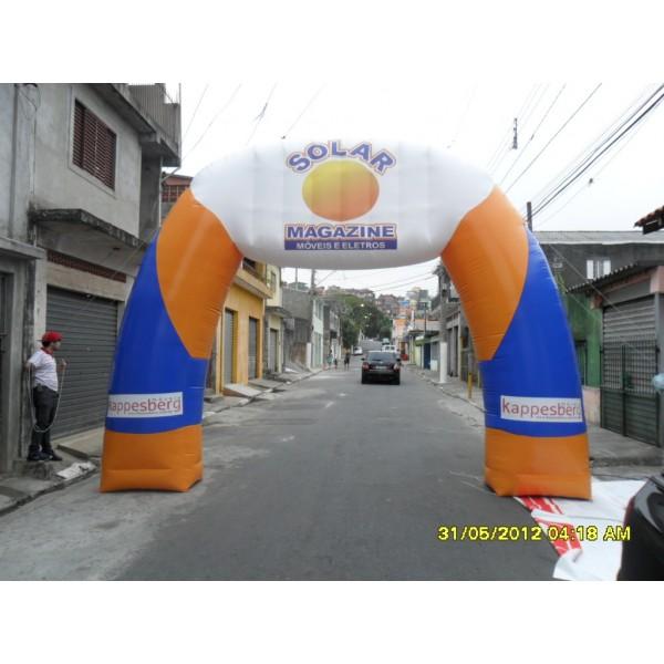 Onde Tem Portal Jardim Santa Clara - Portal Inflável para Eventos SP