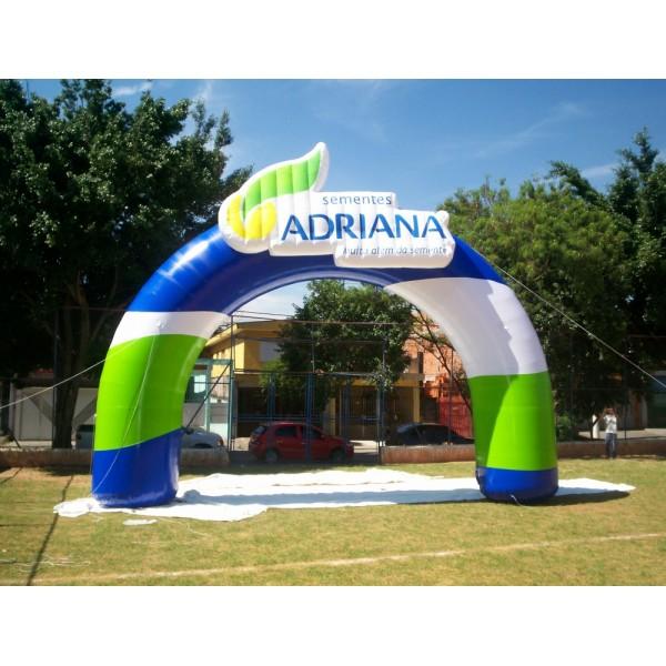 Portal Inflável na Núcleo Residencial Vila Francisca - Portal Inflável em MG