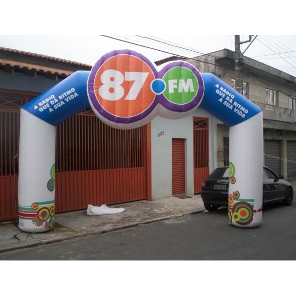 Portal na Vila José Iório - Portal Inflável para Eventos SP
