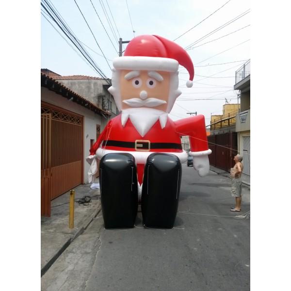 Preço de Papais Noéis na Cidade das Flores - Decoração de Papai Noel Inflável