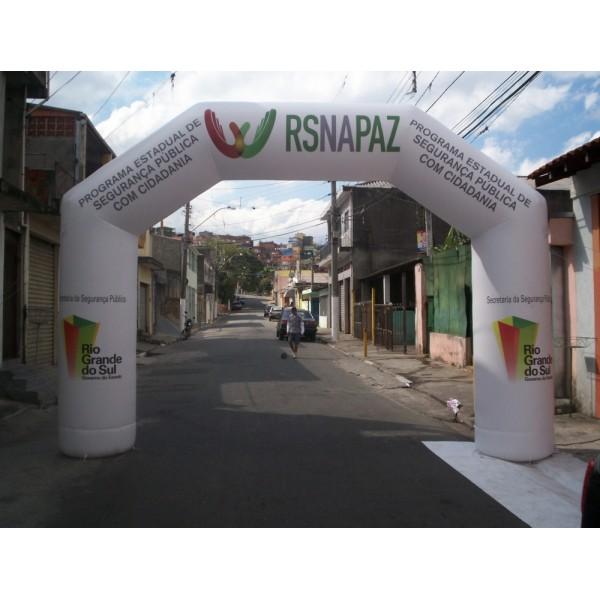 Preço de Portal no Residencial Oito - Portal Inflável no RJ