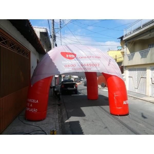 Preço de Tendas Infláveis em Eldorado - Tenda Inflável Preço