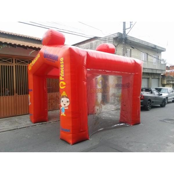 Preço de Tendas Infláveis em Santa Cruz das Palmeiras - Tenda Inflável em MG
