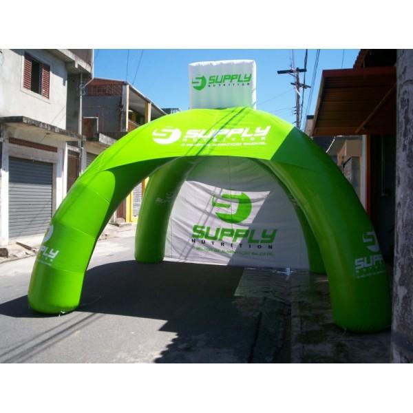 Preço de Tendas Infláveis no Tucuruí - Tenda Inflável Personalizada