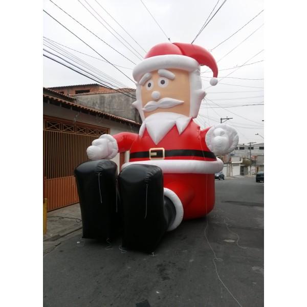 Preços de Boneco de Natal  no Iguatu - Papai Noel Inflável Gigante