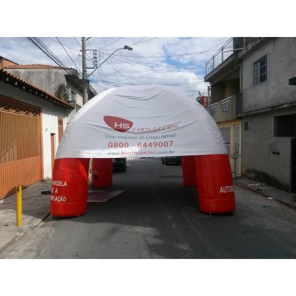 Preços de Tendas Infláveis Jardim Lisa - Tenda Inflável Preço